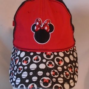 Disney Minnie Mouse Girls Adjustable Hat Cap